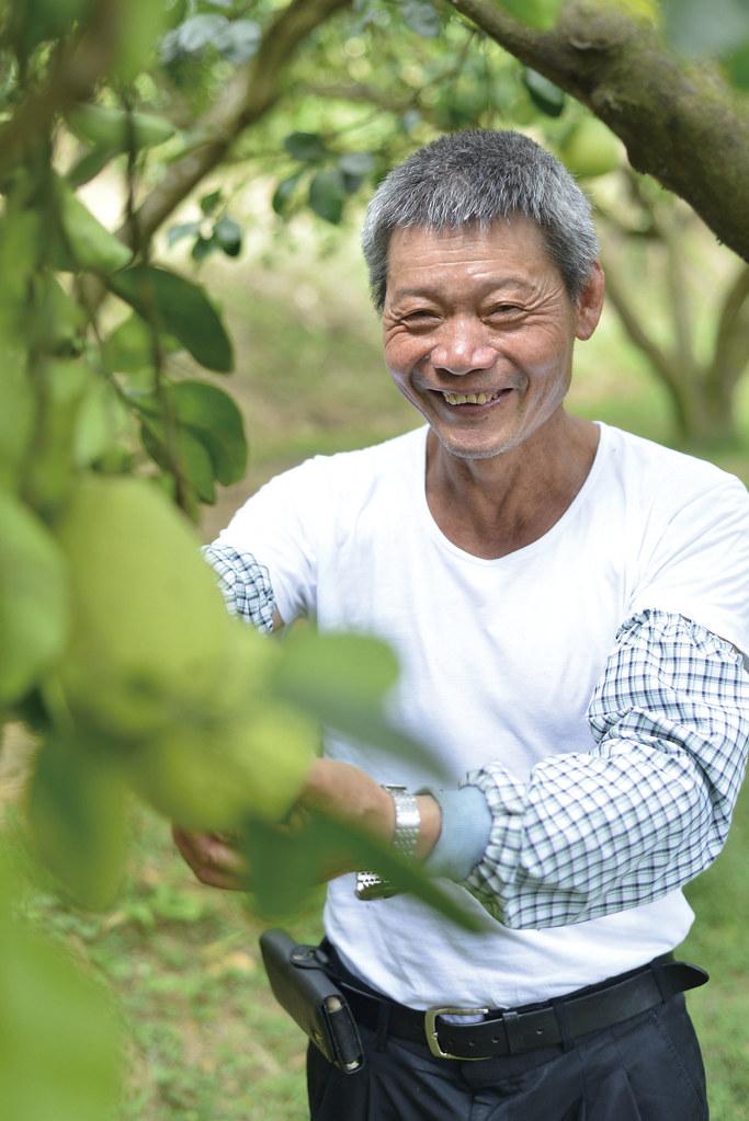 201809-178-綠主張月刊-p08梯田上的蜜香—溫昌海的金黃柚子-04