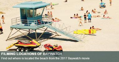 Dónde se rodó Los vigilantes de la playa