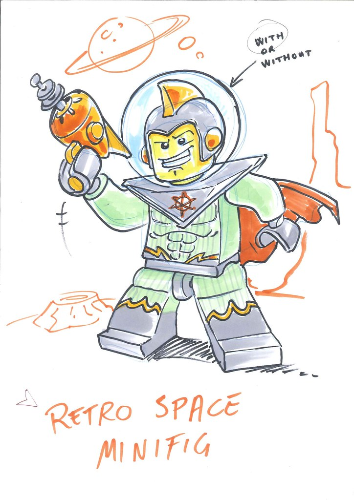Minifigure design sketches | Brickset: LEGO set guide and database