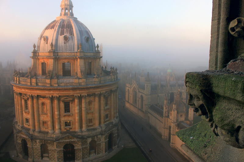 Oxford Radcliffe Camera cityscape