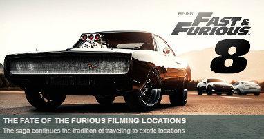 Dónde se rodó Fast & Furious 8