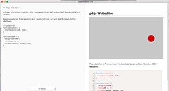 Reproduzierbares Programmieren mit JavaScript (p5.js) und dem Markdown-Editor MacDown.