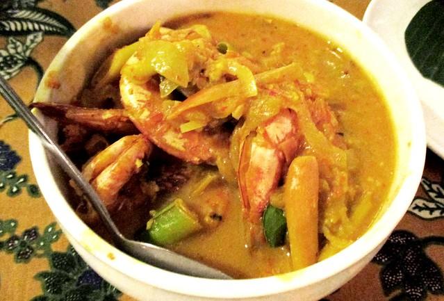 Payung Cafe belimbing prawns 1