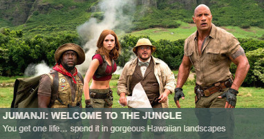 Where was Jumanji filmed