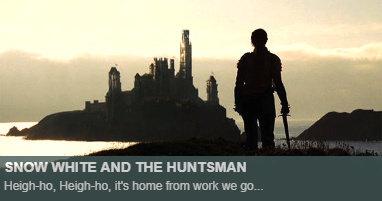 Where was Snow White Huntsman filmed