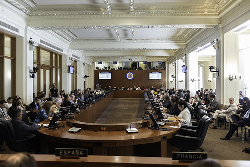 OEA analizó crisis migratoria en Venezuela y Secretario General anunció creación de grupo de trabajo