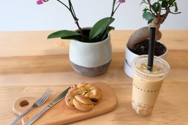 Buns + Boba Bakery + Bubble Tea Café  | Mount Pleasant, Vancouver