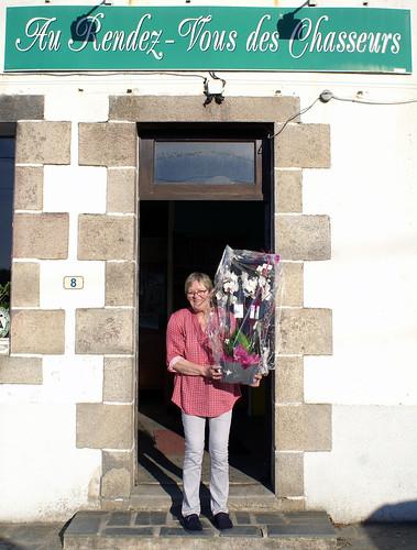 02/09/2018 - Kerlanguis (Kermouster en Plougasnou) : Marylèe pour son dernier concours