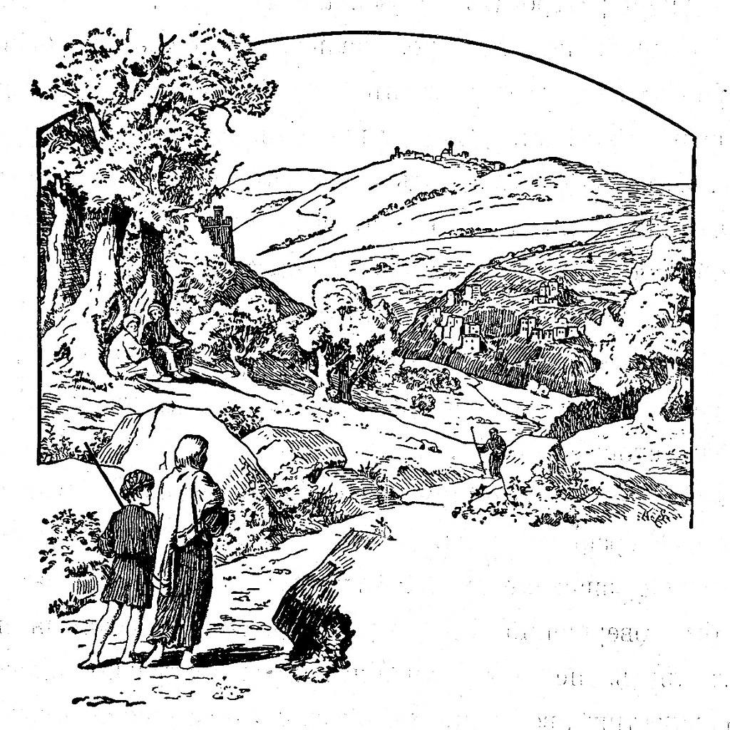 Изображение 118: Графическое изображение старой Палестины.