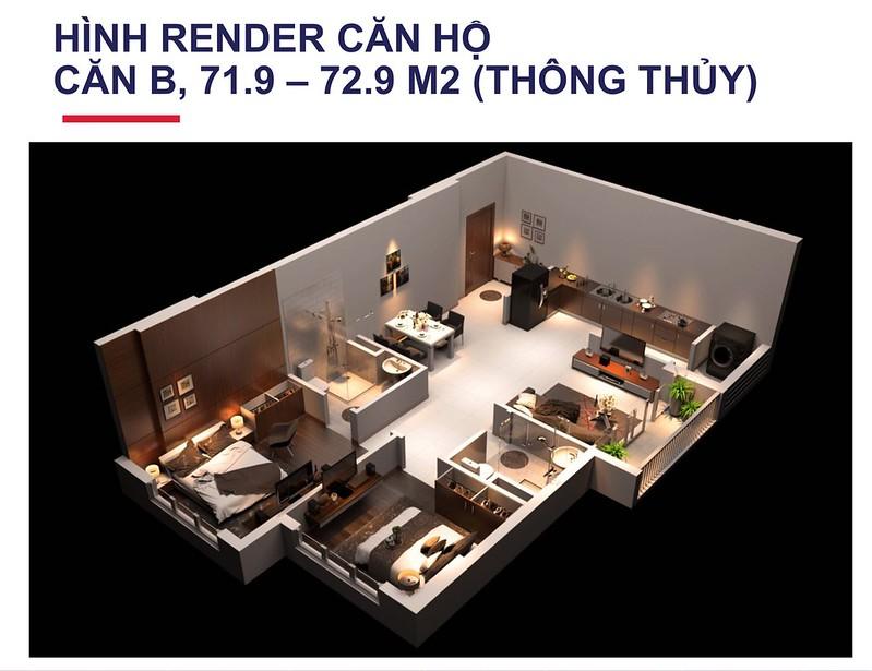 Thiết kế căn hộ quận 12 Centeria Đông Thuận