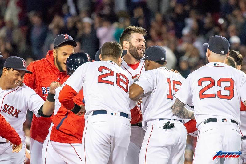 波士頓紅襪。(資料照。駐美特派王啟恩/波士頓拍攝)