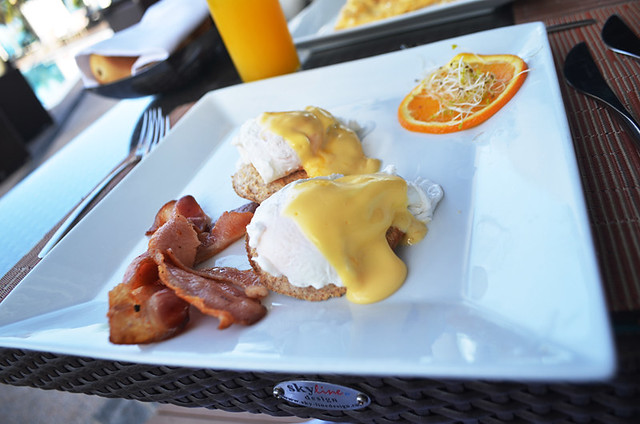 Variation of Eggs Benedict, Tenerife