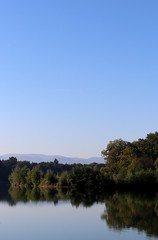 Early autumn lake V