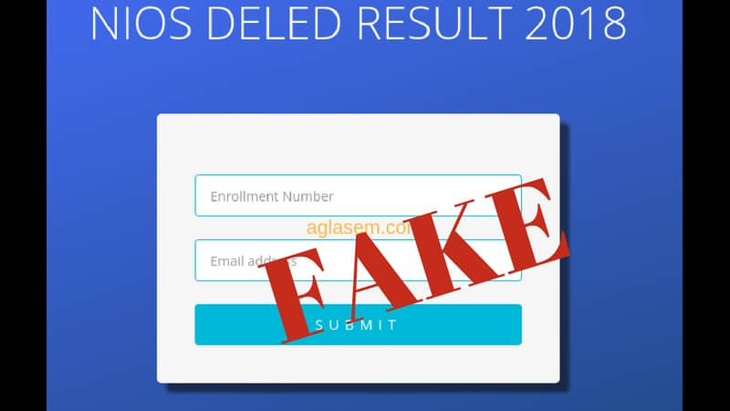 NIOS D.El.ED Result 2018: Whatsapp message saying result announced confuses candidates