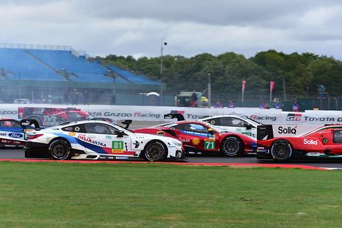 Martin Tomczyk - Nicky Catsburg, BMW M8 GTE, FIA World Endurance Championship, Silverstone 2018