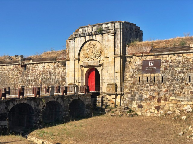 Fuerte de la Concepción en Aldea del Obispo (Salamanca)