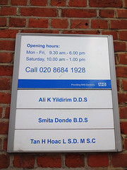 Opening hours and staff list at London Road Dental Centre, Croydon, London CR0