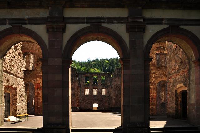 Klosterruine Frauenalb ... Foto: Brigitte Stolle