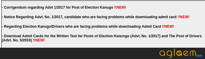 PSSSB Election Kanungo and Driver Admit Card 2018 Released; Exam On 16, 29, 30 September