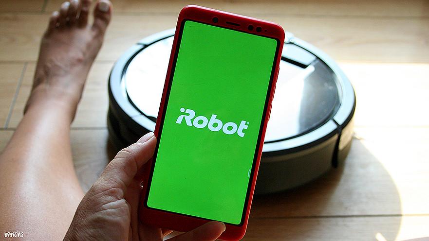 app de la Roomba de iRobot