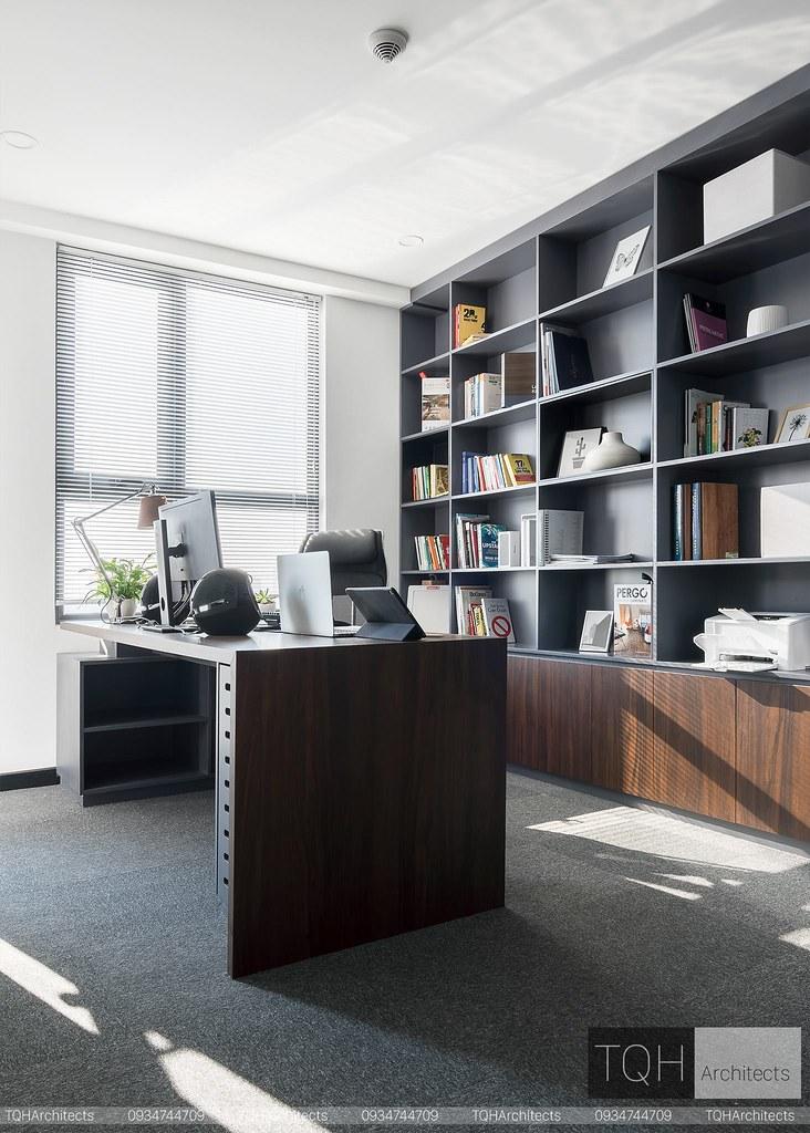 phòng làm việc căn hộ Masteri