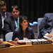 Ambassador Haley gives remarks at a UN Security Council briefing on threats to international peace and security caused by terrorist acts, August 23, 2018
