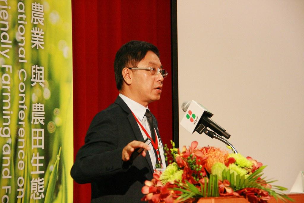 林華慶指出,生態農業是修補國土生態網絡的戰略