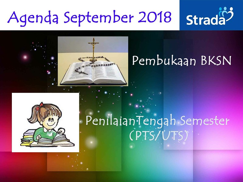 Agenda Kegiatan bulan September 2018