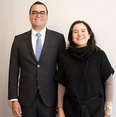 Jehudi Castro Sierra, Viceministro de Economía Digital y Sylvia Constaín, Ministra de las TICs