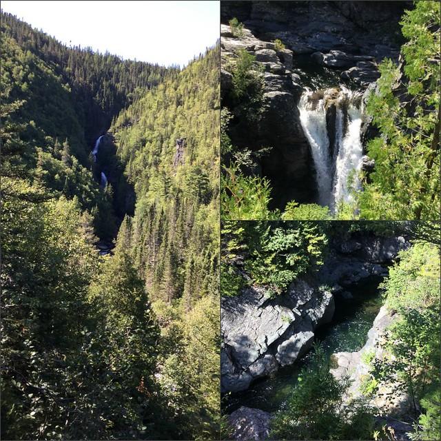Waterfalls at Forillon