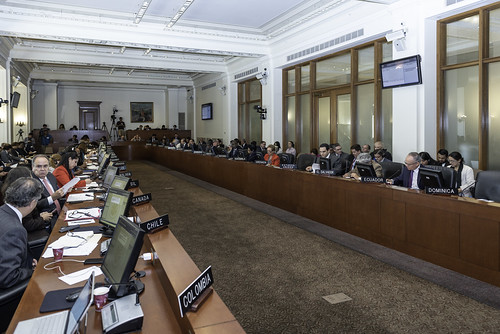 OAS Passes Resolution on Recent Events in Nicaragua