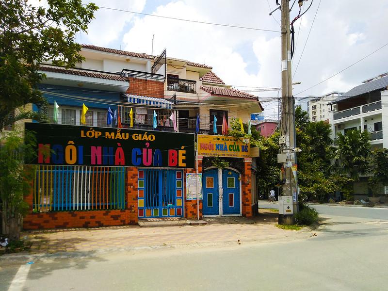 Trường mẫu giáo gần căn hộ Centeria Đông Thuận quận 12