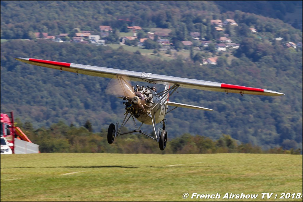 Duo Dewoitine D26 HB-RAG HB-RAI D.26 patrouille Team oldtime Dittinger Flugtage 2018 Canon Sigma France contemporary lens Meeting Aerien 2018