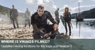 Where is vikings filmed