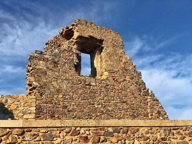Ruinas en Castelo Rodrigo (Portugal)
