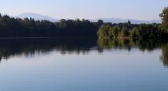 Early autumn lake II