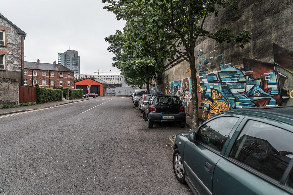 AREA NEAR THE ROUNDABOUT ON VICTORIA ROAD IN CORK JULY 2017  020