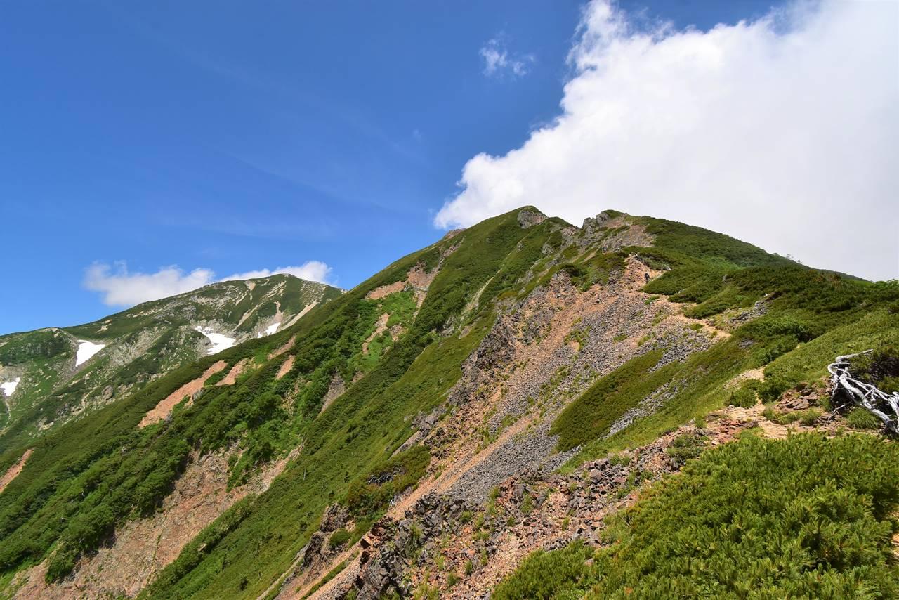 唐松岳~五竜岳登山