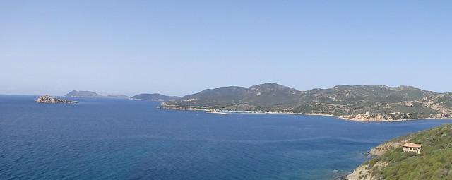 Una veduta della costa sarda