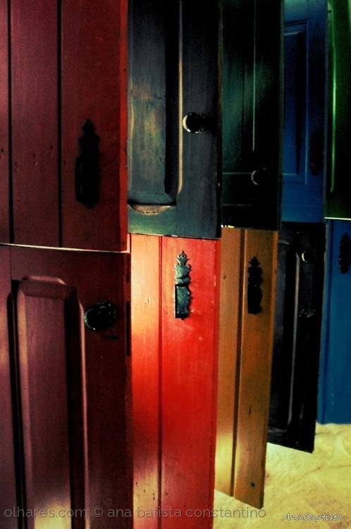 Fotografia em Palavras: Acessórios de portas