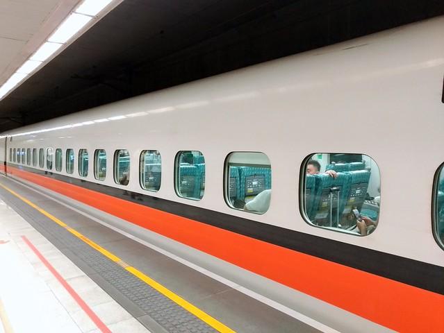 台湾で新幹線に乗ってみた