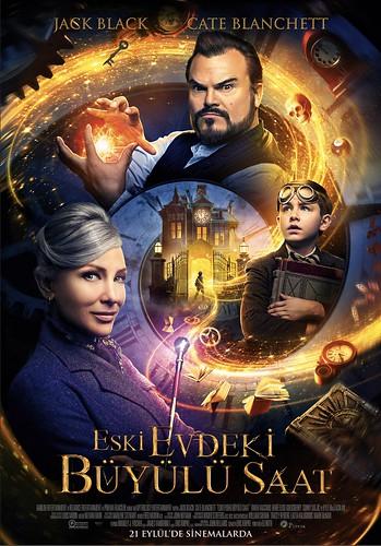 Eski Evdeki Büyülü Saat - The House With a Clock in its Walls (2018)