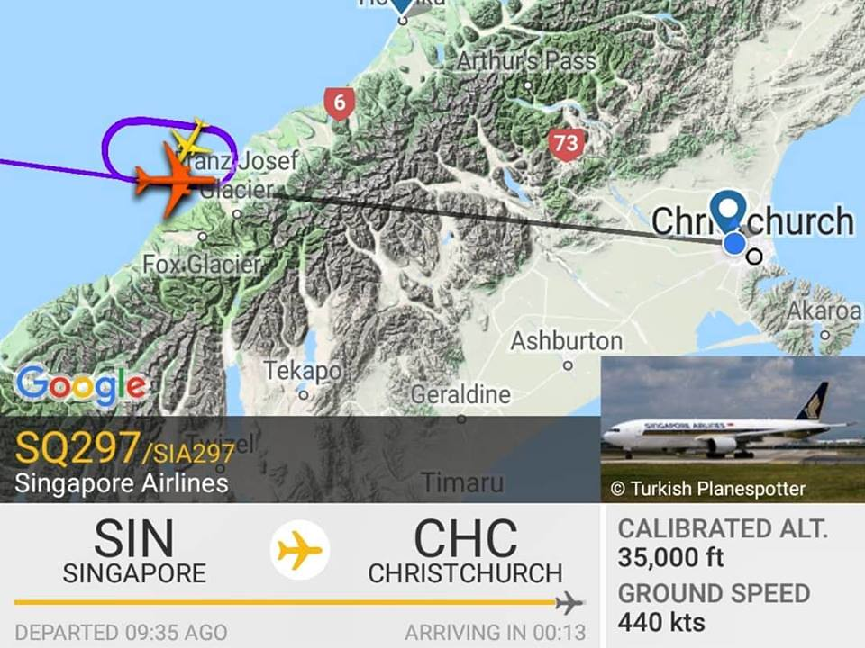 Review of Singapore Airlines flight from Christchurch to Singapore ...