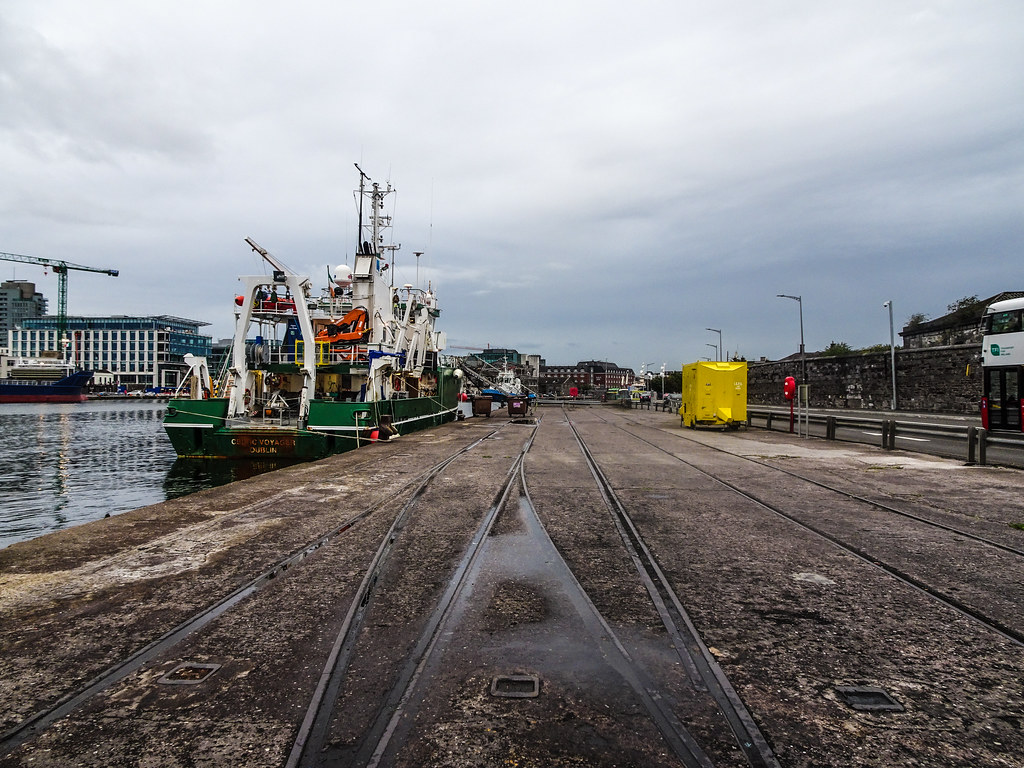 THE CELTIC VOYAGER - HORGAN'S QUAY IN CORK CITY [A RESEARCH AND SURVEY VESSEL] 006