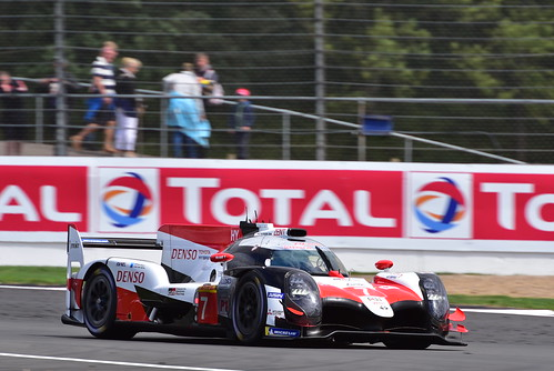 Mike Conway - Kamui Kobayashi - José María López, Toyota TS050 - Hybrid, FIA World Endurance Championship, Silverstone 2018