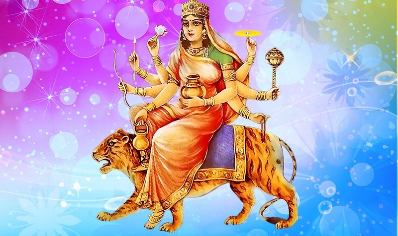 significance of red color in navratri