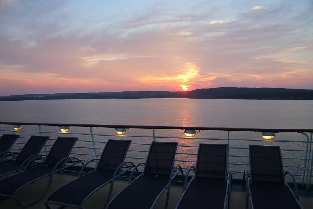 Morning Amp Sunrise On The Royal Caribbean Adventure Of The