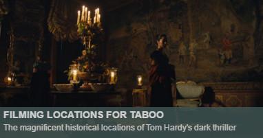 Where is taboo filmed