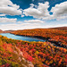 Lake of the Clouds in Fall