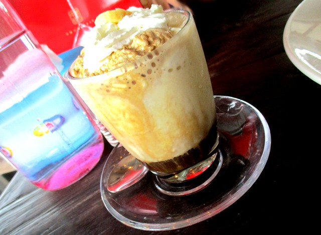 Outright Coffee ice blended banana espresso